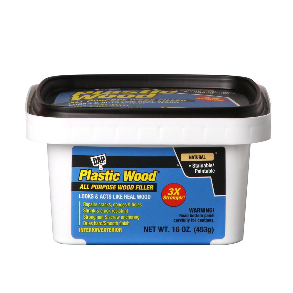 Plastic Wood 16 oz. Natural Latex Wood Filler