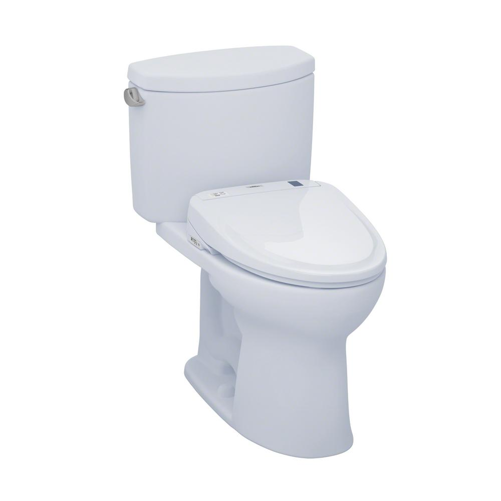 toto drake ii connect 2 piece gpf elongated toilet with washlet s350e bidet seat and. Black Bedroom Furniture Sets. Home Design Ideas