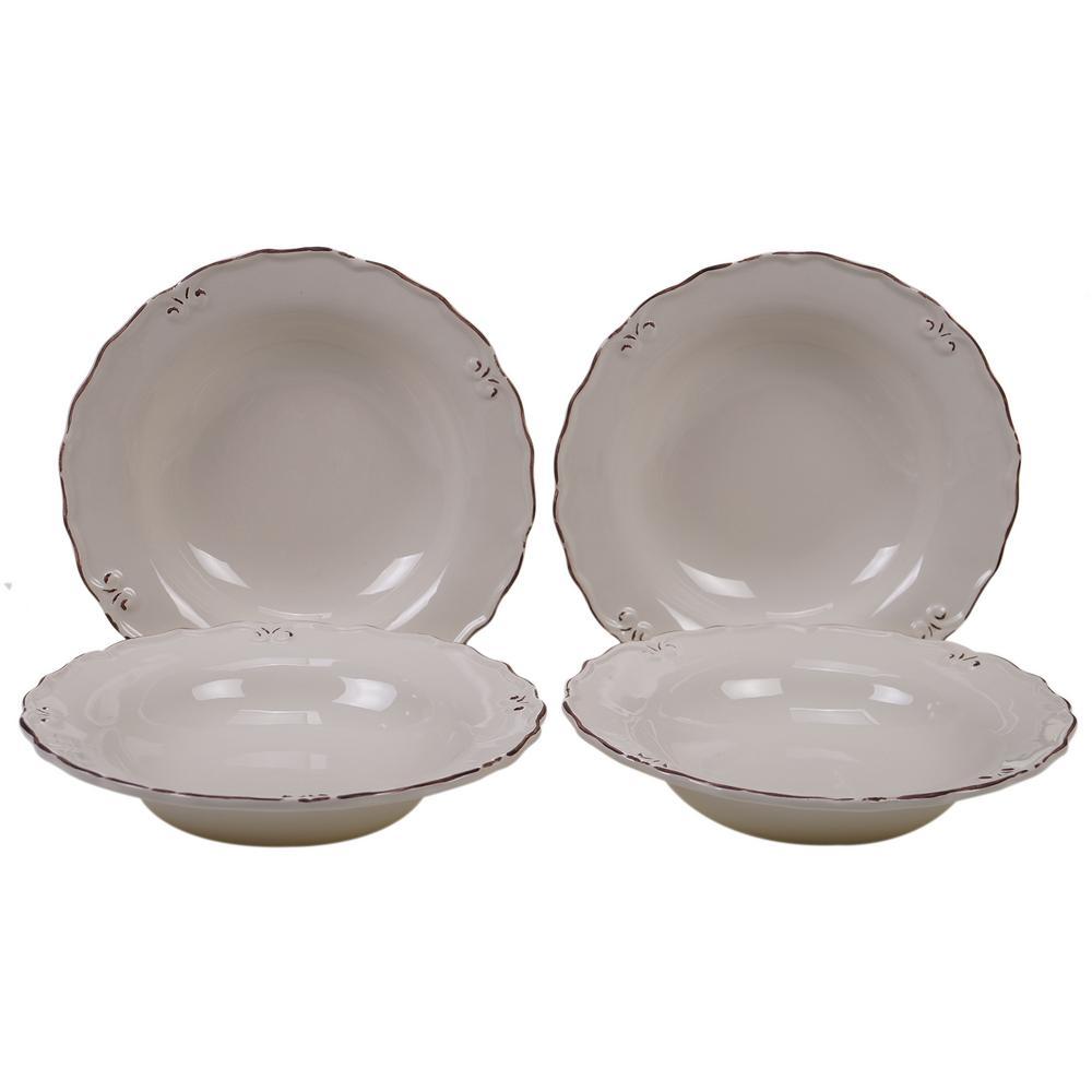 Vintage Cream Soup Bowl (Set of 4)