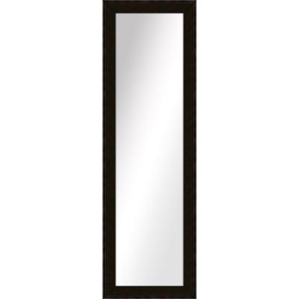 Large Rectangle Dark Bronze Art Deco Mirror (52.5 in. H x 16.5 in. W)