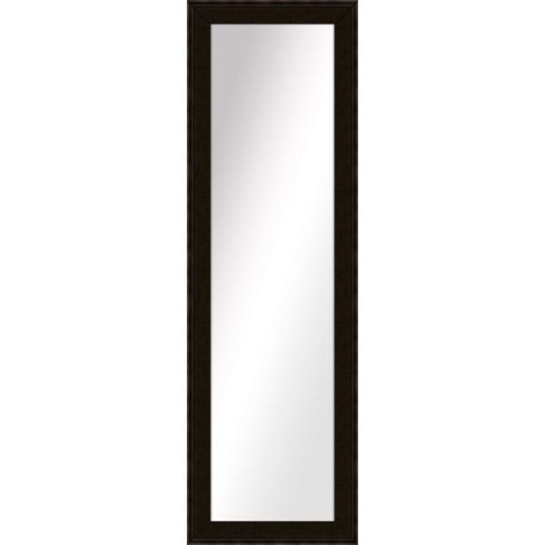 Large Rectangle Dark Bronze Art Deco Mirror (52.5 in. H x 16.5 in. W)