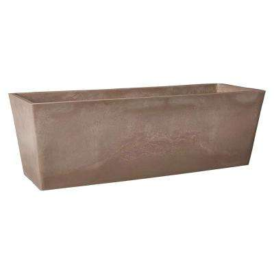 Simplicity 17-1/2 in. x 7 in. x 6 in. Taupe PSW Window Box