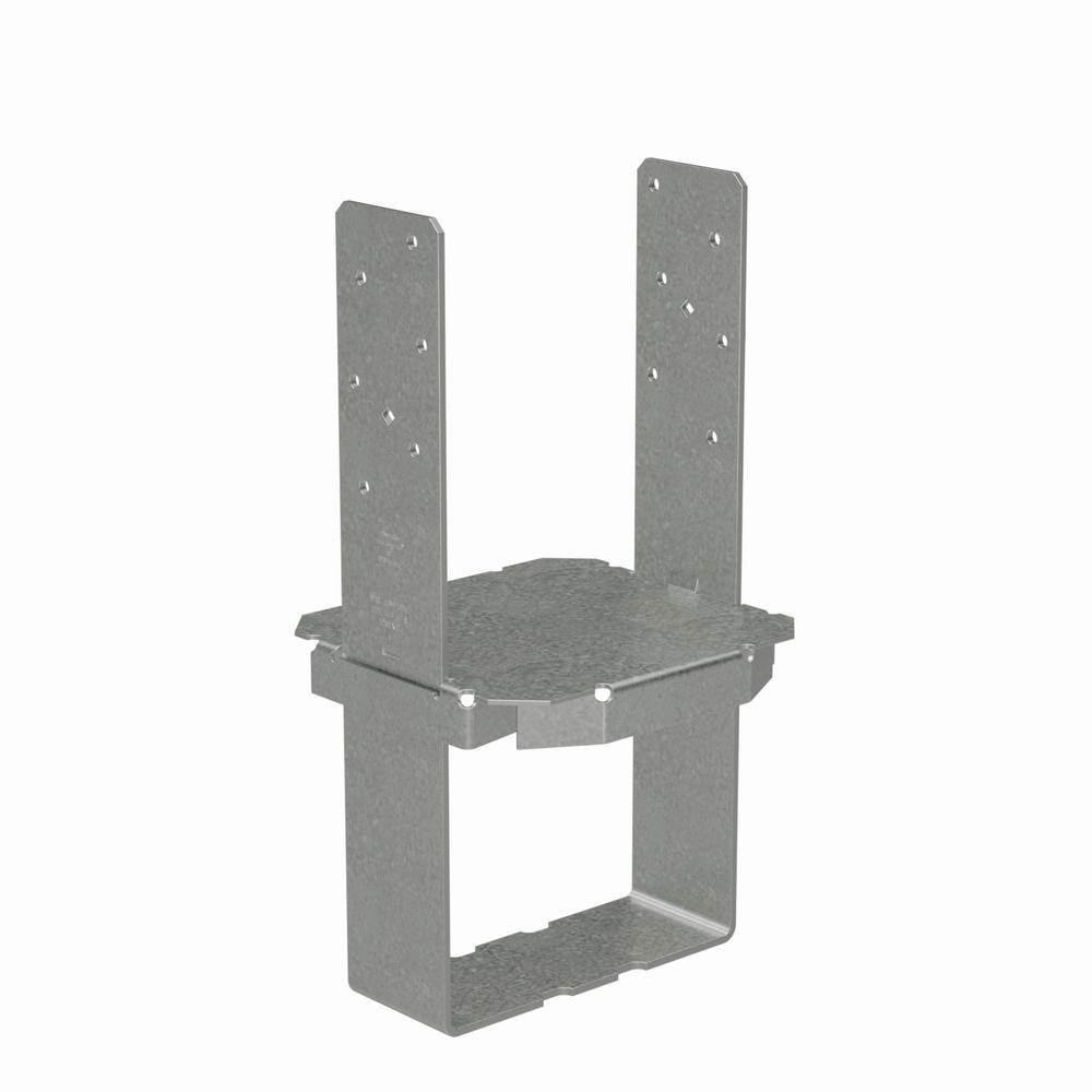 8 in. x 8 in. 12-Gauge Standoff Column Base with SDS Screw