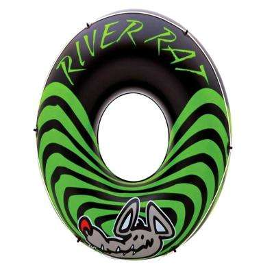 River Rat 48 in. Inflatable Tube Raft for Lake, Pool or River (48-Pack)