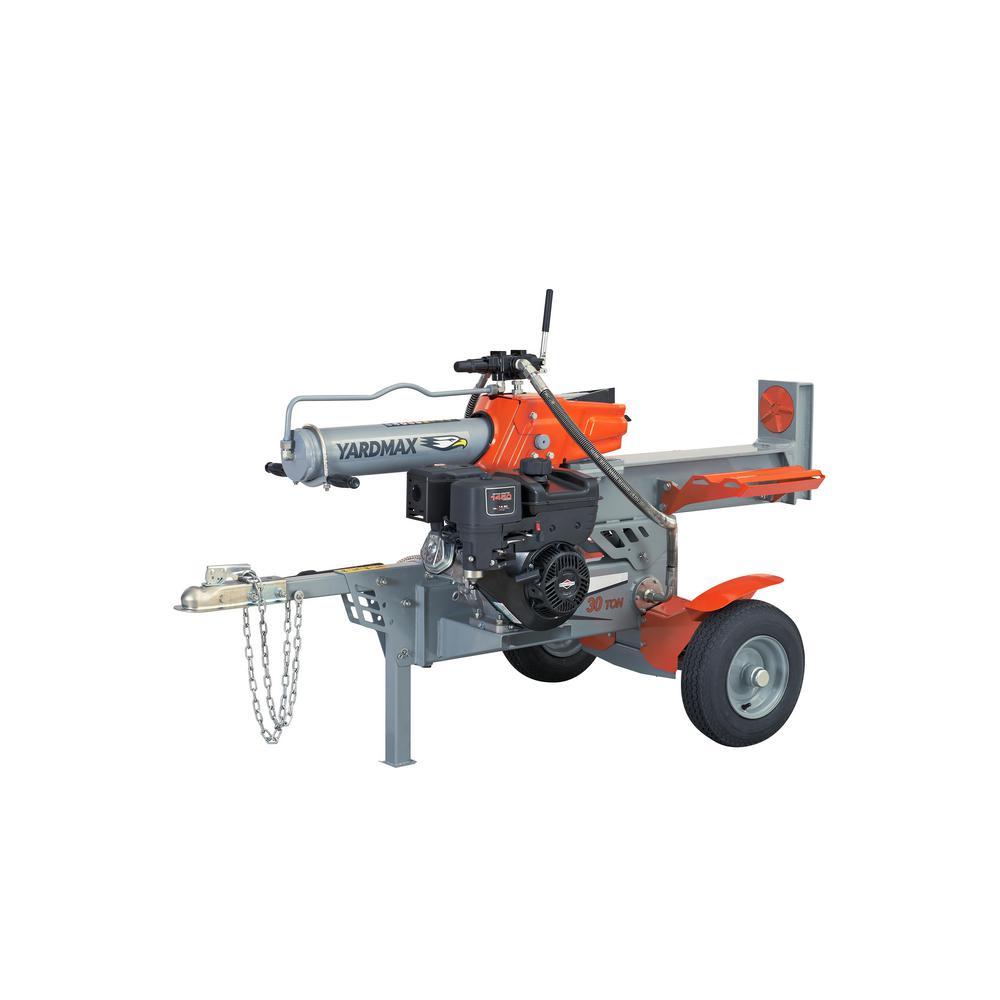 YARDMAX 30-Ton 306cc Gas Log Splitter