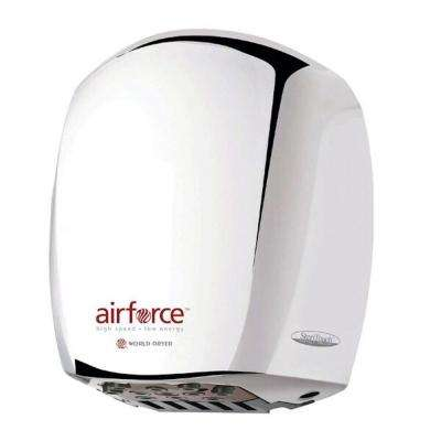 Airforce Electric Hand Dryer in Polished Stainless Steel