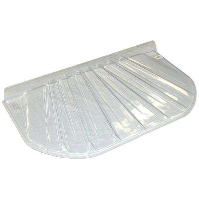 20 in. x 4 in. Polyethylene Elongated Low Profile Window Well Cover