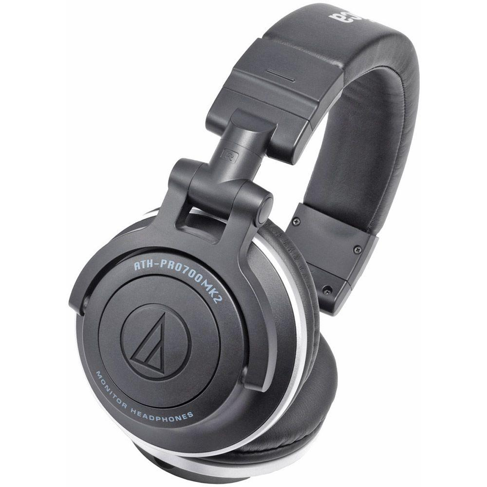 Audio-Technica Professional DJ Monitor Headphones with Dual-Use Cords