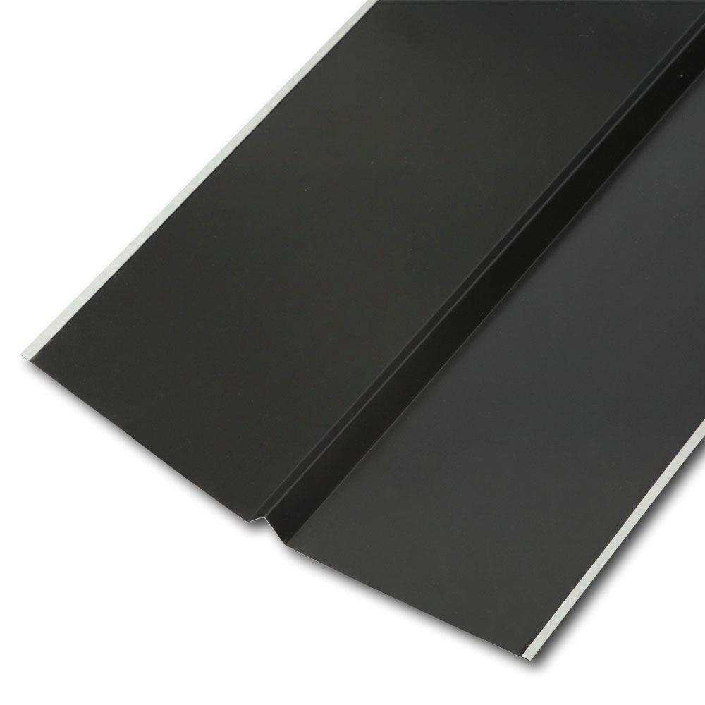 20 in. x 10 ft. Galvanized Steel W-Valley Flashing