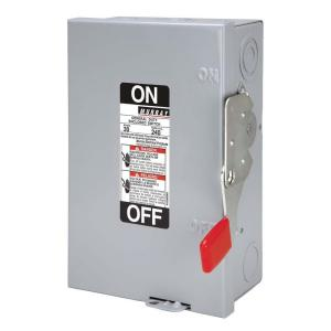 murray general duty 30 amp 240 volt double pole indoor fusible fuse box house at Fuse Box Safety