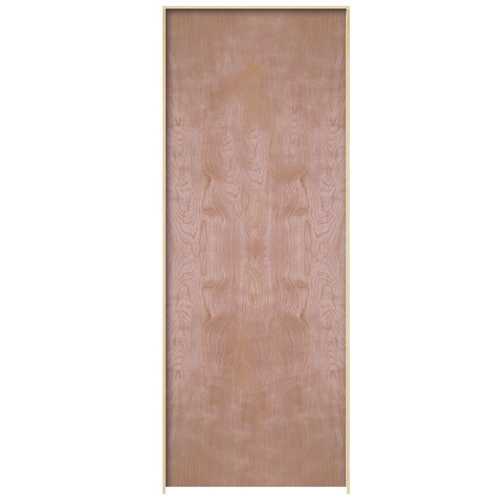 24 x 80 no panel prehung doors interior closet doors the smooth flush hardwood hollow core birch veneer composite single prehung interior door planetlyrics Image collections