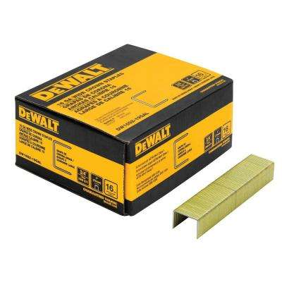3/4 in. x 16-Gauge Galvanized Staple 2000 per Box