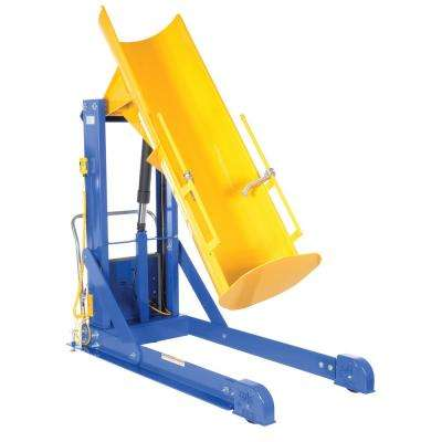 72 in. 750 lb. Capacity Portable Hydraulic Drum Dumpers