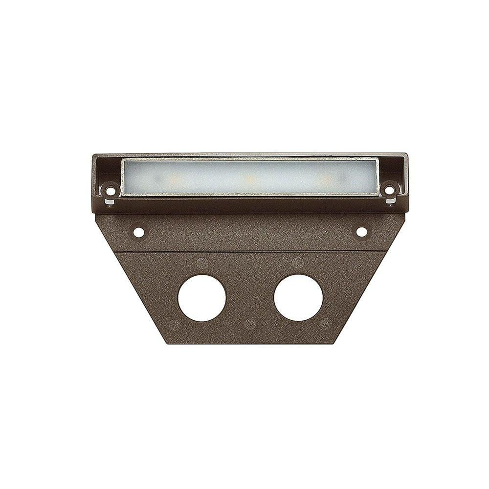 Hinkley Lighting Ultra Warm Bronze Integrated Led Hardscape Light 2700k