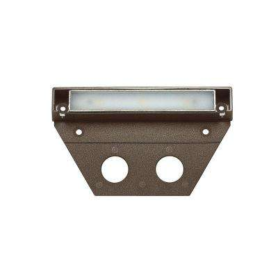 Ultra-Warm Bronze Integrated LED Hardscape Light (2700K)
