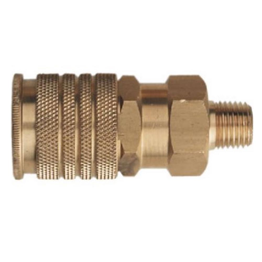 "3/8"" Universal Coupler 1/4"" Male"