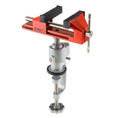 3 in. Jaw Universal Vise with Swivel Base
