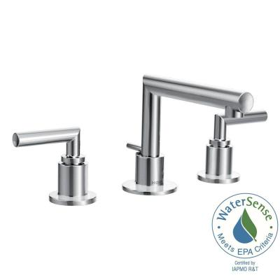 Moen Arris 8 In Widespread 2 Handle Bathroom Faucet Trim Kit Chrome Valve Not Included