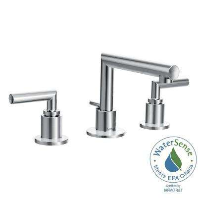 Arris 8 in. Widespread 2-Handle Bathroom Faucet Trim Kit in Chrome (Valve Not Included)