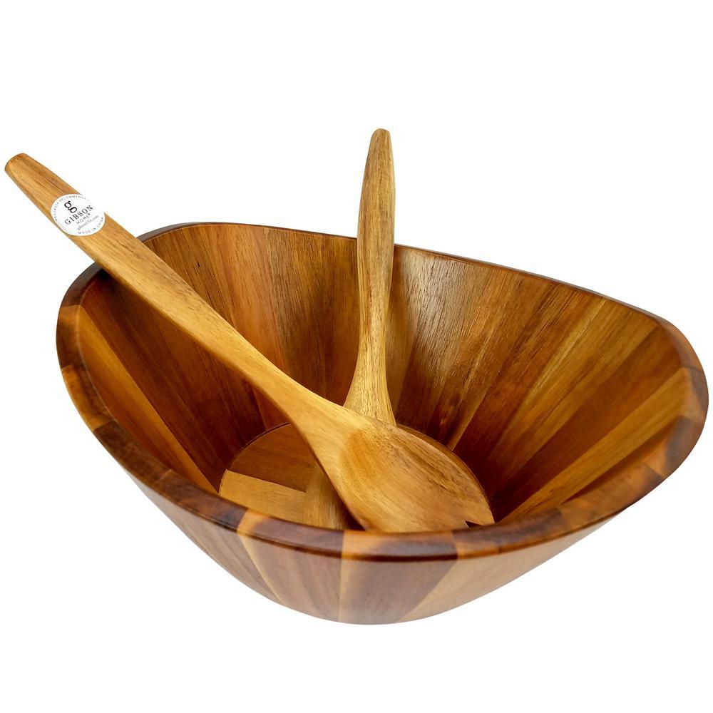 Gibson Home Ashville 3-Piece Salad Bowl Set