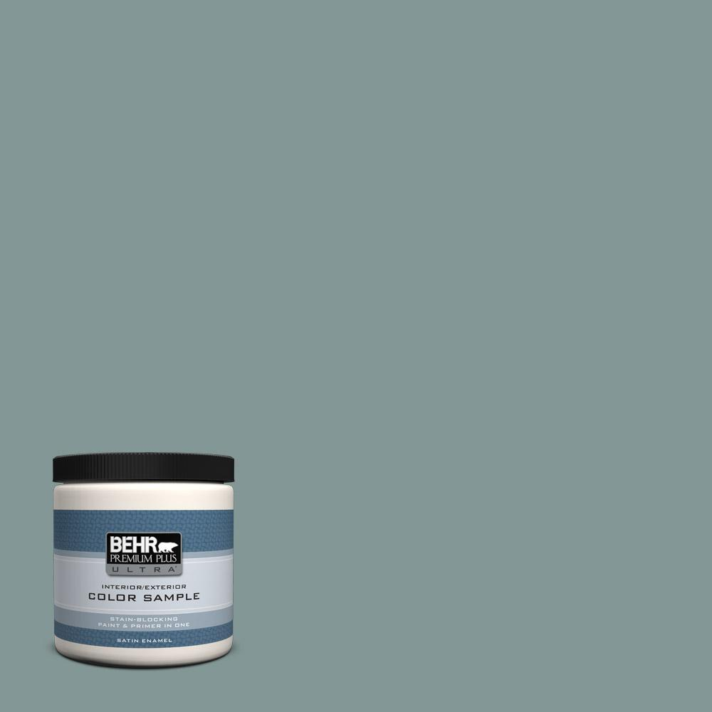 Behr Premium Plus Ultra 8 Oz T18 15 In The Moment Satin