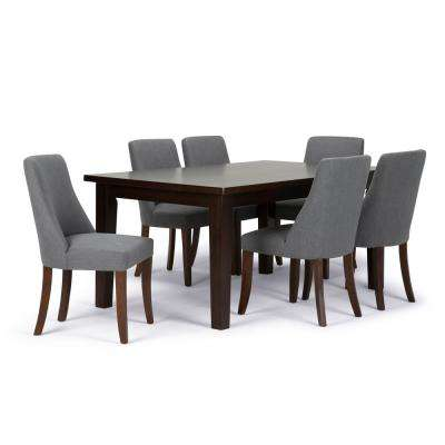 Walden 7 Piece Slate Grey Dining Set. Gray   Dining Room Sets   Kitchen   Dining Room Furniture   The