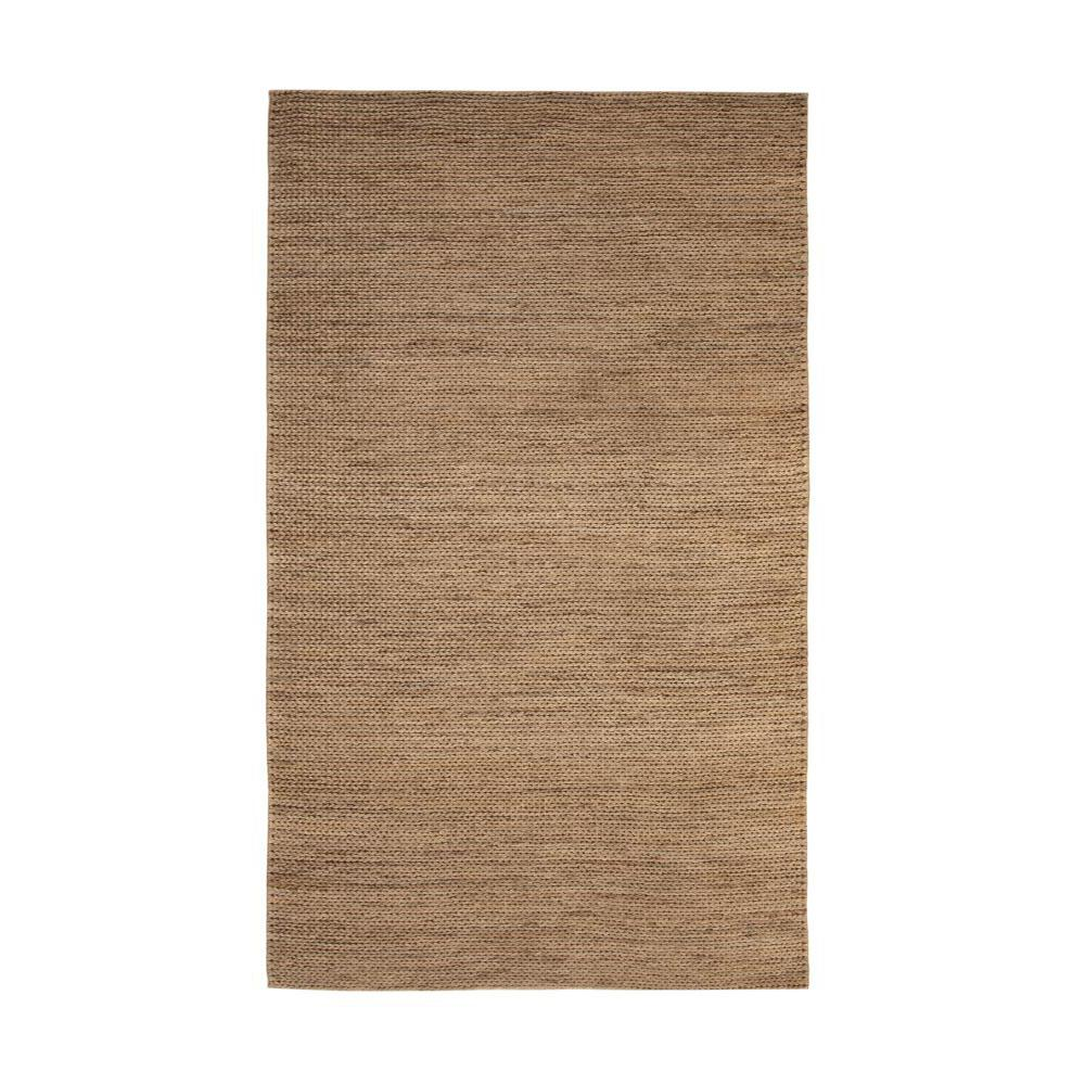 Jute natural 8 ft x 10 ft area rug