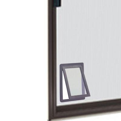 8.875 in. x 10.5 in. Medium Screen Fit Dog and Pet Door for Screen Door