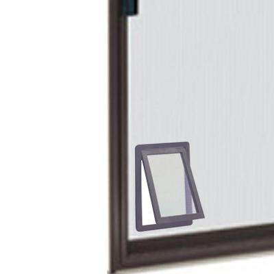 8.875 in. x 10.5 in. Medium Screen Fit Pet Door for Screen Door
