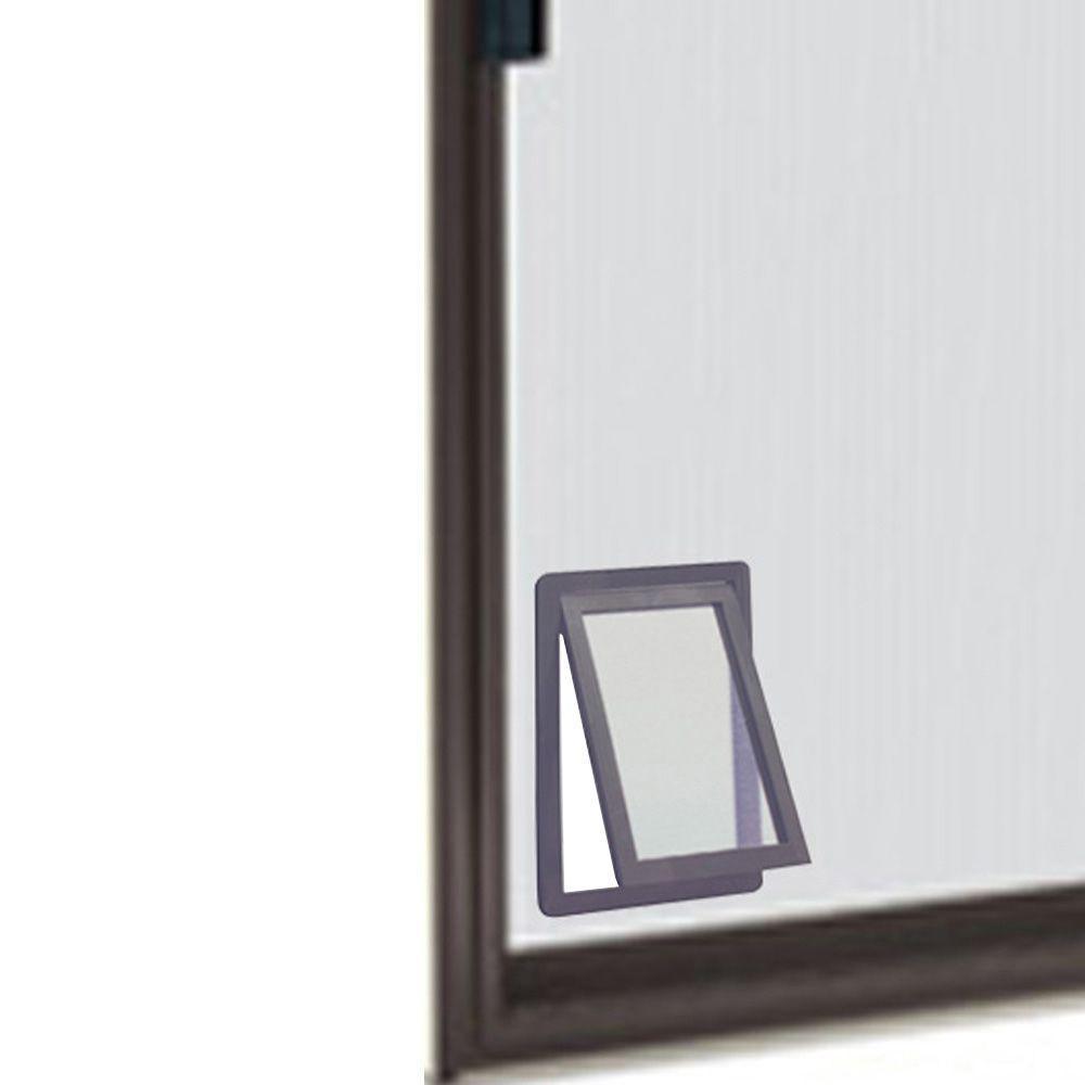 8.875 in. x 10.5 in. Medium Screen Fit Dog and Pet Door for Screen Door