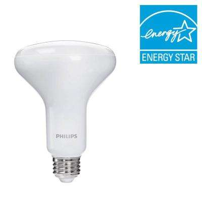 65W Equivalent Soft White BR30 Dimmable LED with Warm Glow Effect Light Bulb (4-Pack) (E)