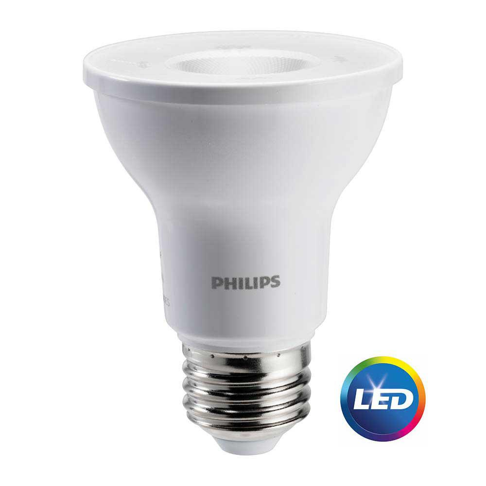 Philips 50 Watt Equivalent PAR20 LED Energy Star Light Bulb Bright White SO