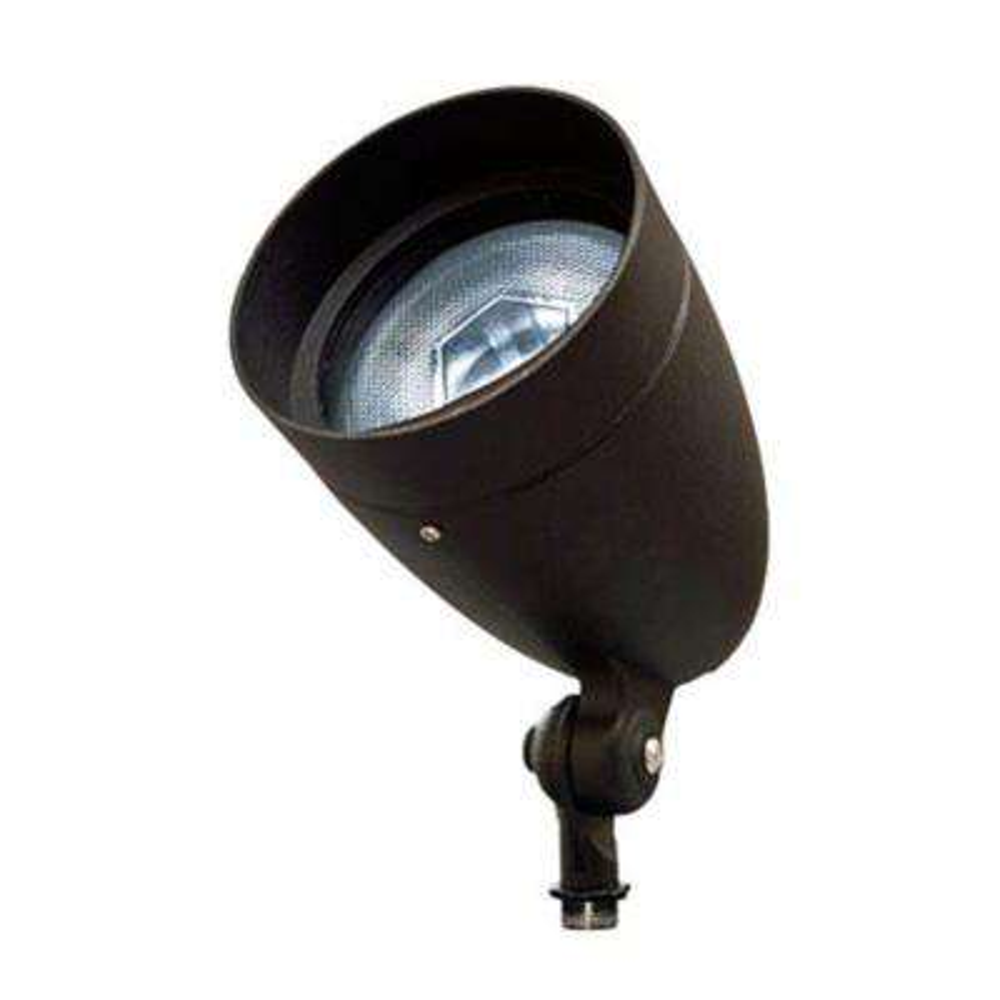Skive 1-Light Black Outdoor Directional Spot Light