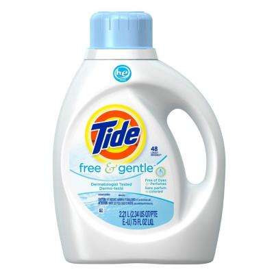75 oz. Free and Gentle HE Liquid Laundry Detergent (48-Loads)