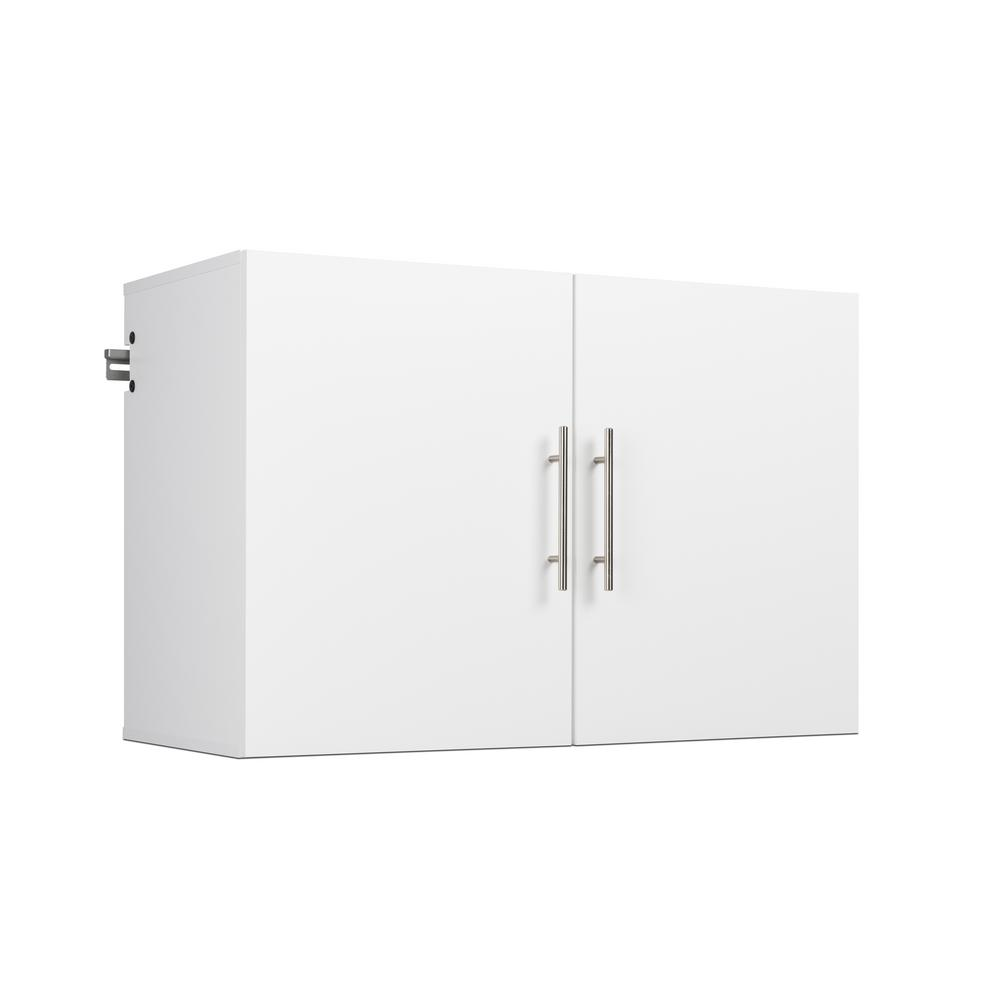 Prepac Hangups Collection 24 In H X 36 W 20 D White Wall Mounted Upper Storage Cabinet