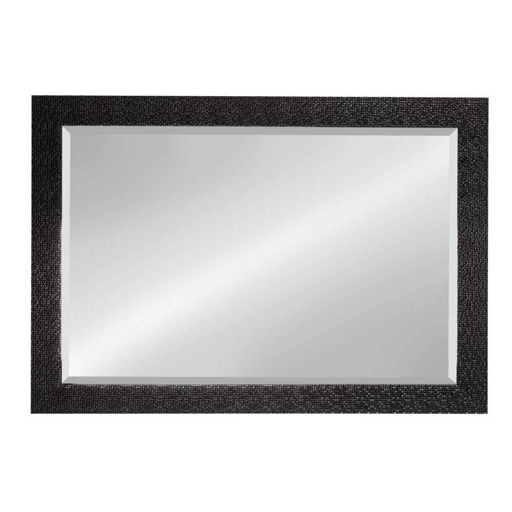 Coolidge Rectangle Black Mirror