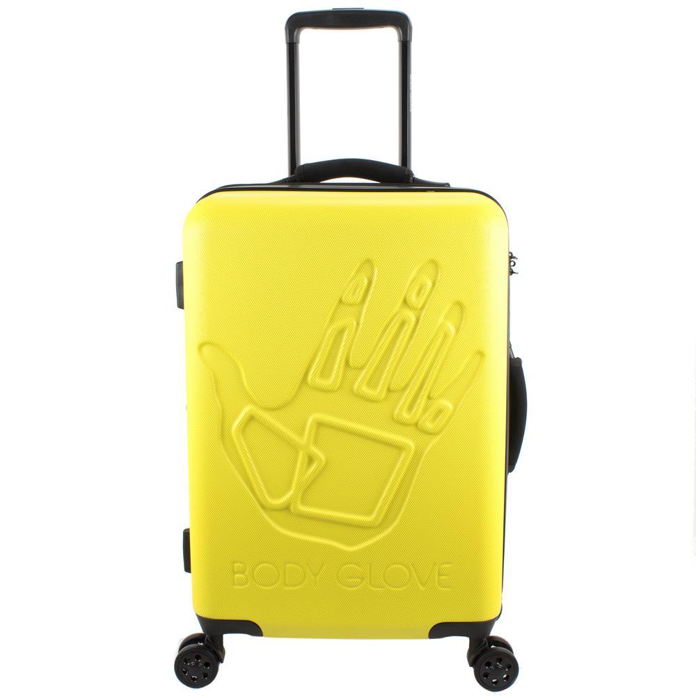Redondo 22 in. Yellow Hardside Luggage
