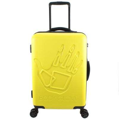 Redondo 22 in. Yellow Hardside Luggage