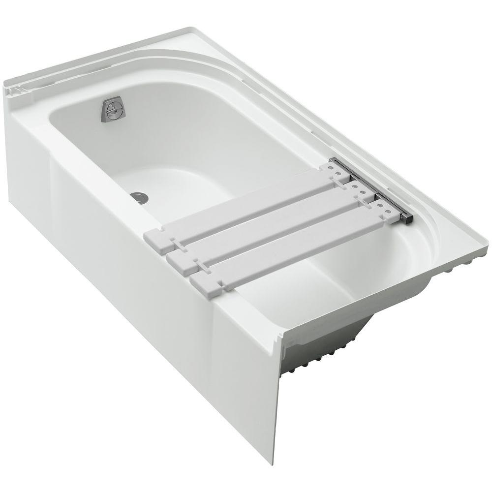 STERLING Accord 5 ft. Left Drain Rectangular Alcove Soaking Tub ...