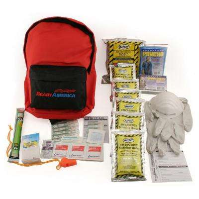 1-Person 3-Day Emergency Kit with Backpack