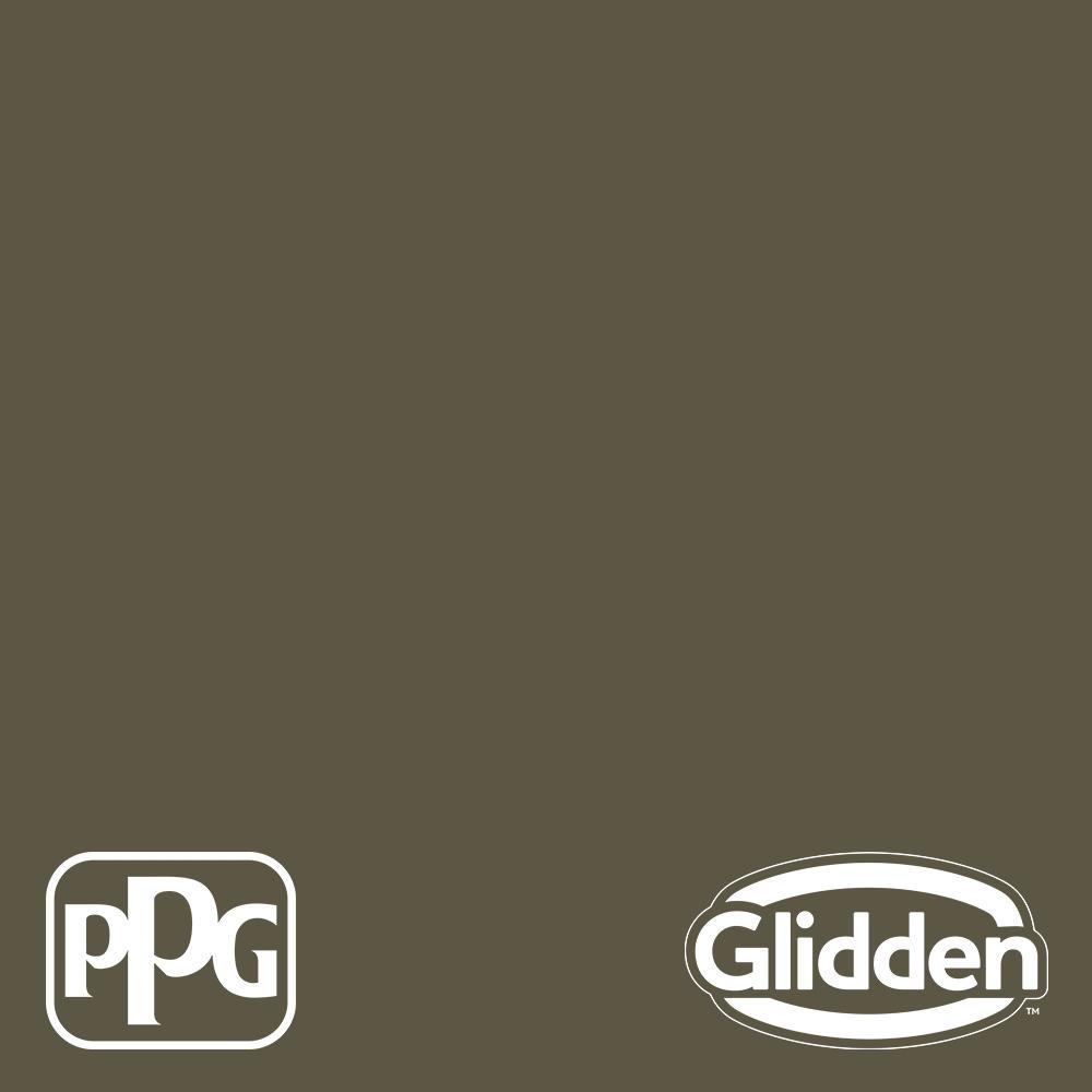 1 gal. PPG1028-7 Walnut Grove Satin Exterior Latex Paint