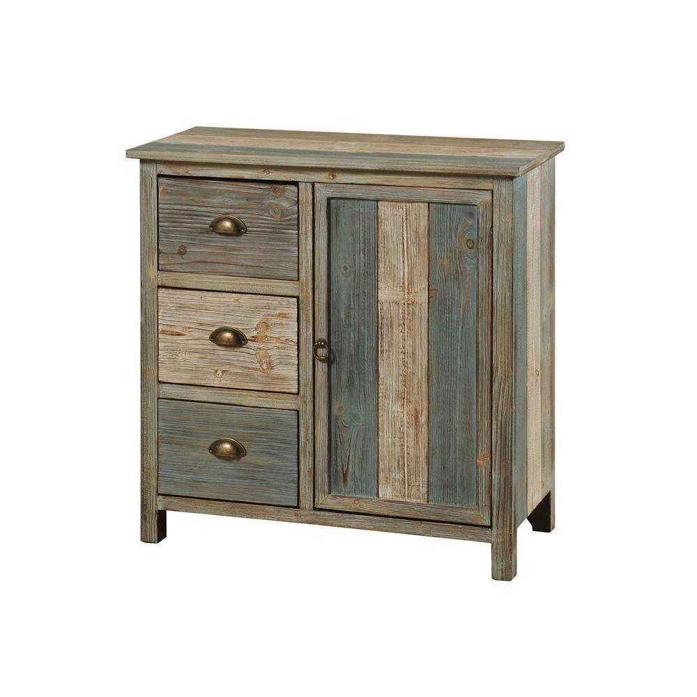 Sanibel with 3-Drawers and 1-Door Cabinet