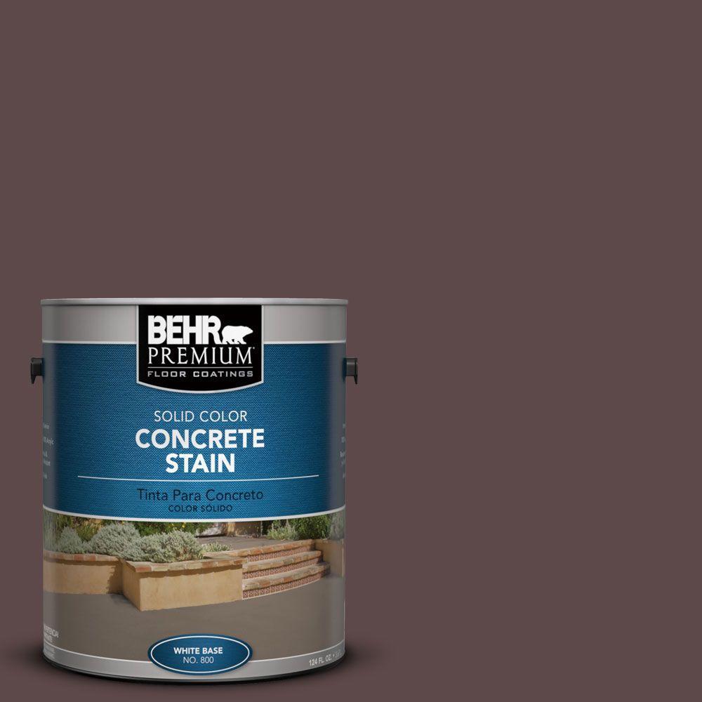 1 gal. #PFC-05 Cafe Iruna Solid Color Interior/Exterior Concrete Stain