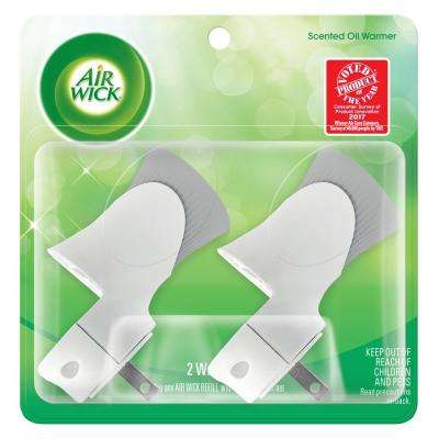Plug-In Scented Oil Automatic Air Freshener Dispenser (2-Pack)
