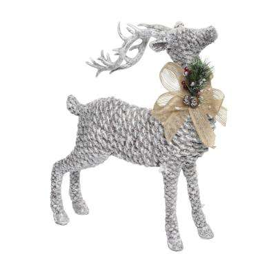 15 in. Tall Pinecone Reindeer