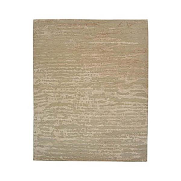 Oscar Contemporary Camel 9 ft. x 12 ft. Loom Knotted Area Rug