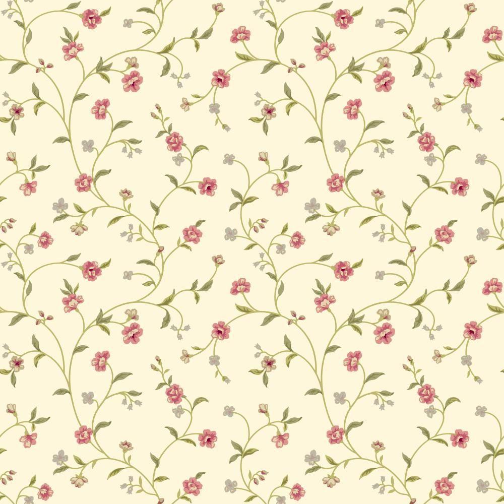 York Wallcoverings Waverly Cottage Bellisima Vine Wallpaper Er8189