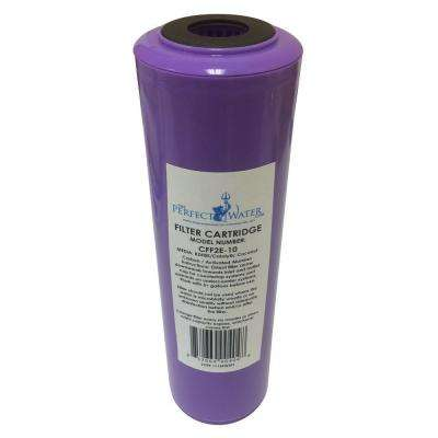 Home Master Jr. F2 Elite Replacement Filter (Activated Alumina/GACC/KDF85 Fluoride Filter)