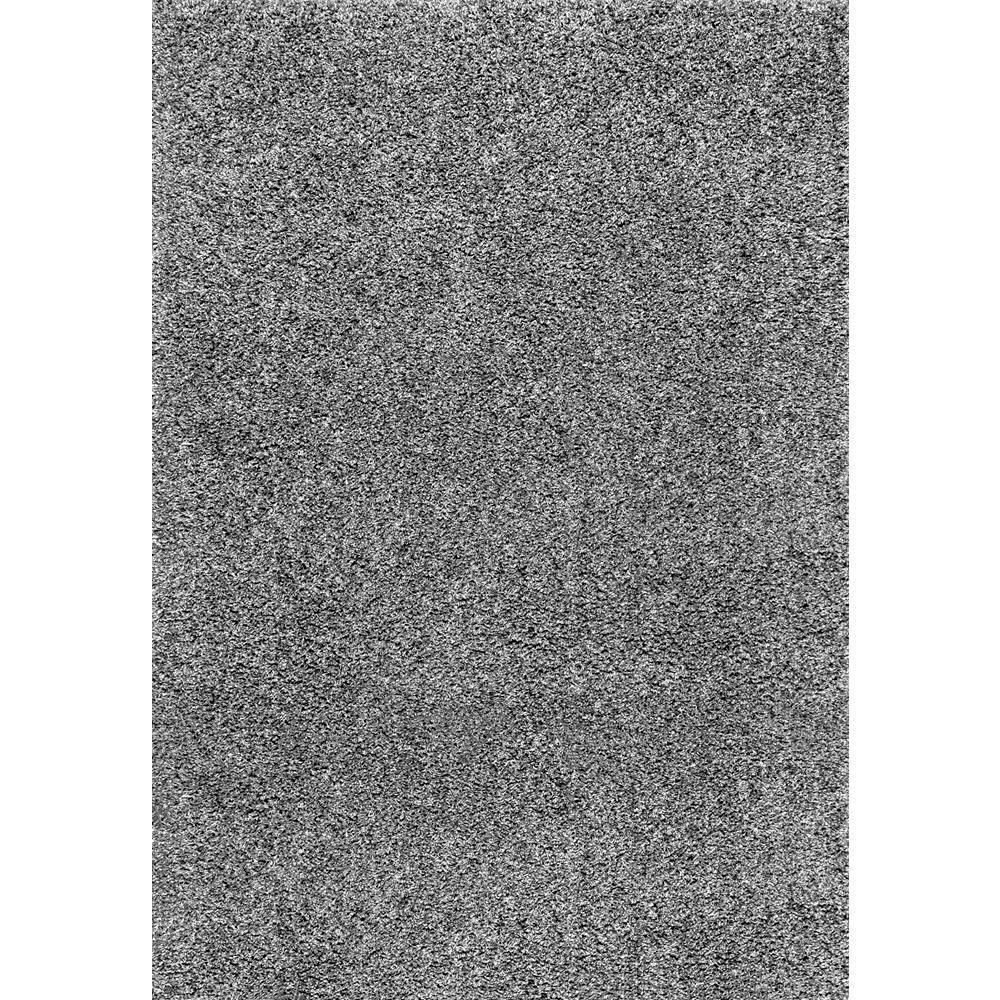 Marleen Plush Shag Gray 10 ft. x 14 ft. Area Rug