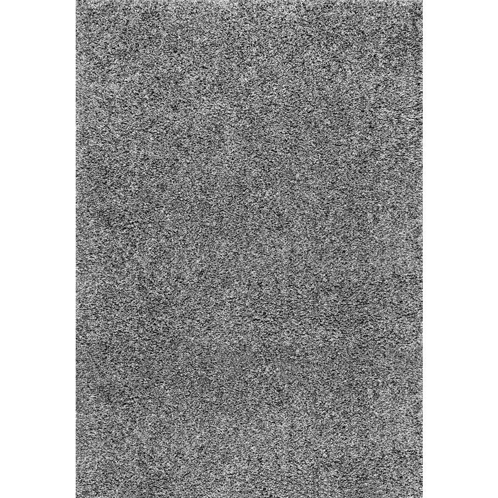 Nuloom Marleen Solid Plush Gray 9 X 12 Area Rug Ozsg02g 92012